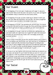 end of year letter from your teacher fields paragraph and student personalized end of year letter to student from teacher such a lovely letter