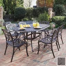 garden furniture patio uamp: fabulous aluminum versus wrought iron outdoor patio furniture elegant with