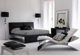 black and white bedroom cool lounge chairs with awesome interior decorating black white bedroom cool