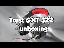 <b>Trust GXT 322</b> - unboxing! - YouTube