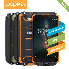 <b>2020 New</b> Version <b>Poptel</b> P60 Rugged Smartphone with PTT 6+ ...