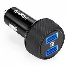 <b>Зарядное устройство</b> автомобильное <b>Anker PowerDrive</b> Speed 2 ...
