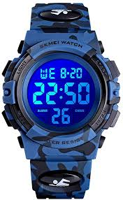 eYotto Kids <b>Sports</b> Watch Boys Camouflage Military <b>Digital</b> ...