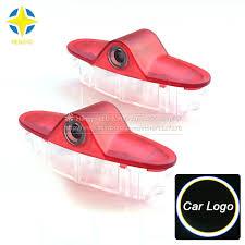 <b>2PCS LED</b> Car Laser Projector Logo Ghost Shadow Light <b>LED Door</b> ...