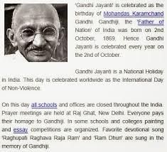 gandhi jayanti speech essay paragraph in hindi english for student  gandhi jayanti speech essay paragraph in hindi english for student