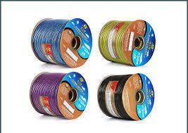 <b>JSJ oxygen free copper</b> audio <b>cable</b> single core shielded ...