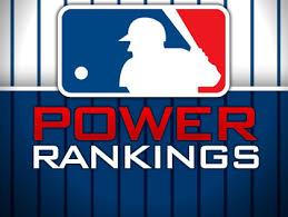 MLB Weekly Power Rankings