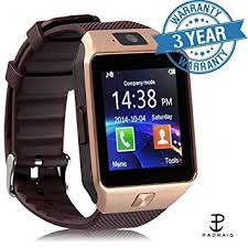 GLE Padraig <b>DZ09 Smartwatch</b> (Black, Rose gold): Amazon.in ...