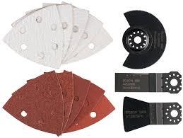 <b>Набор пильных полотен</b> для мультитулов <b>Bosch</b> 2609256977 для ...