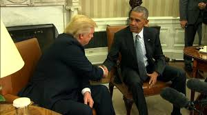 obama encouraged by trumps interest in working together barack obama enters oval