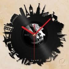 vinyl wall clock around the world blank wall clock frei