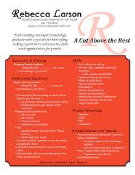 cosmetology student resume  seangarrette cobecca resume becca resume resume for hair stylist and cosmetologist cosmetology sample resumes