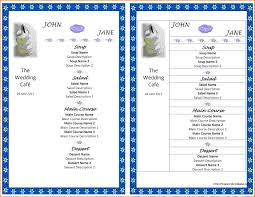 templates for word quotation template jpg sponsorship wedding menu templates for microsoft word wedding menu templates