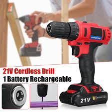 """<b>21V</b> 160W Electric <b>Cordless Brushless</b> 3/8"""" Drill Driver ..."""