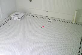 white bathroom floor: amazing white tile bathroom floor  white mosaic bathroom floor tile