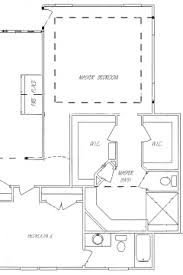 master bathroom floor plans tub design
