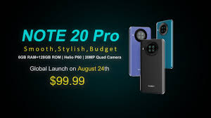 Introducing <b>Cubot Note 20 Pro</b> - Global Launch on Aug 24th ...