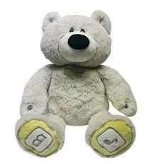 Luv'n Learn Интерактивная <b>игрушка</b> Медведь цвет <b>серый</b> ...