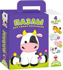 <b>Vladi Toys</b> Пазлы для самых маленьких Коровка — купить в ...