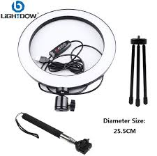 Online Shop Lightdow Big/Small <b>Dimmable LED Studio Camera</b> ...
