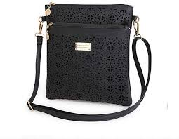 <b>JESPER</b> Women Black Skull Shoulder Messenger Bag Handbag ...