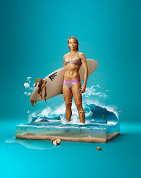 the creative lifeproof galaxy s5 case advertising campaign surf surreal photo manipulation by oleg dou