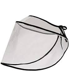 Romacci Unisex <b>Transparent Face Shield PVC</b> Dust-proof ...