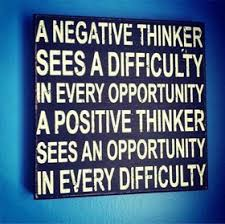 Image result for quotes about being negative