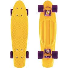 "<b>Y</b>-<b>Scoo Fishskateboard 22</b>"" - <b>скейтборд</b> с сумкой желтый-dark ..."