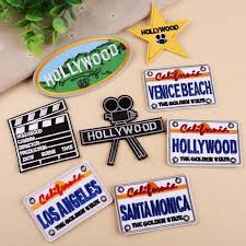 PGY <b>1 PCS</b> High quality Hollywood Beating projector Embroidered ...
