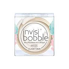invisibobble Clicky BUN To Be Or Nude To Be Hair ... - Amazon.com
