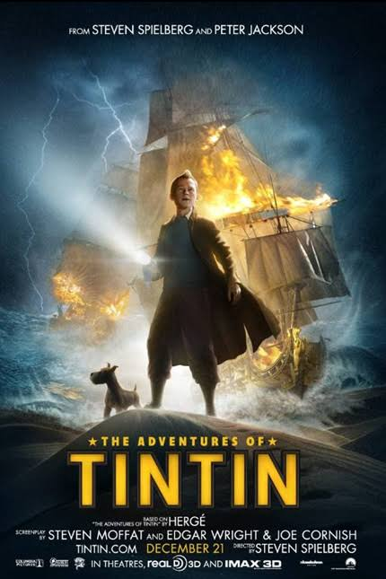 Download The Adventures of Tintin (2011) Dual Audio Full Movie {Hindi-Eng} 480p [450MB] | 720p [1GB]