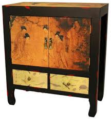 angels in the garden end table asian style furniture asian style furniture