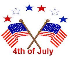 Image result for 4th of july clipart