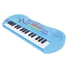 <b>Музыкальный инструмент Zhorya Синтезатор</b> с микрофоном 32 ...