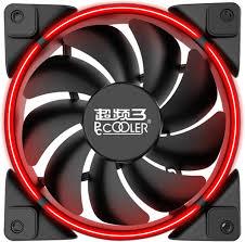 <b>Вентилятор</b> для корпуса <b>PCCooler</b> CORONA red купить в Москве ...