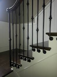 Custom Stair Railing Metal Baluster Custom Stairs Artistic Stairs