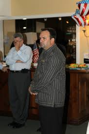 too bad rep eddy gonzalez can t be recalled political cortadito that is glenn the goon rice left of eddy gonzalez also at the jose oliva fundraiser what a crowd