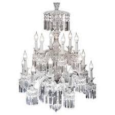 crystal chandelier of baccarat france 1850s baccarat zenith arm black crystal chandelier