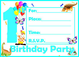 birthday invitation birthday invitation card template kids new printable birthday invitation card sample