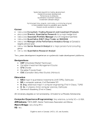 day trader resume trader resume example collections resum s s and trading cover letter