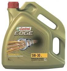 Купить <b>Масло моторное Castrol EDGE</b> 5W30 синтетическое, 4 л с ...