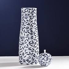 fashion blue ceramic rustic stool decoration porcelain dressing modern home floor luxury