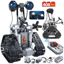 <b>ERBO 408PCS City</b> Creative RC Robot Electric Building Blocks ...