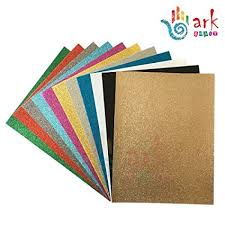 arkCRAFT 33737 A4 Assorted <b>Glitter</b> Felt (Pack of <b>10</b>): Amazon.co ...