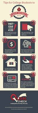 tips for college students to save money visual ly tips for college students to save money infographic