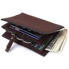<b>Short</b> Male Wallet Card Holder Designer <b>Brand Small</b> Genuine ...