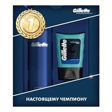 Подарочный набор <b>GILLETTE</b> (<b>Гель</b> для бритья + <b>Гель после</b> ...