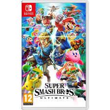 <b>Super Smash Bros</b> Ultimate Nintendo Switch | Smyths Toys Ireland