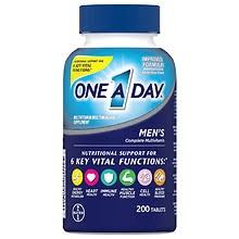 One A Day <b>Men's Complete Multivitamin</b> Tablets | Walgreens